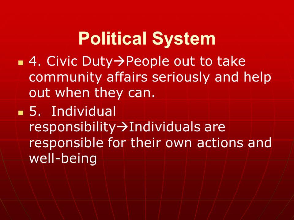 Political System 4.