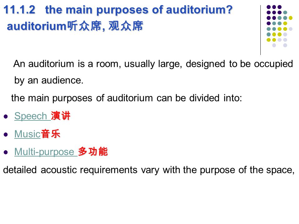 演讲 Speech 演讲 可理解的 The requirement for a good speech is that the speech is intelligible 可理解的.