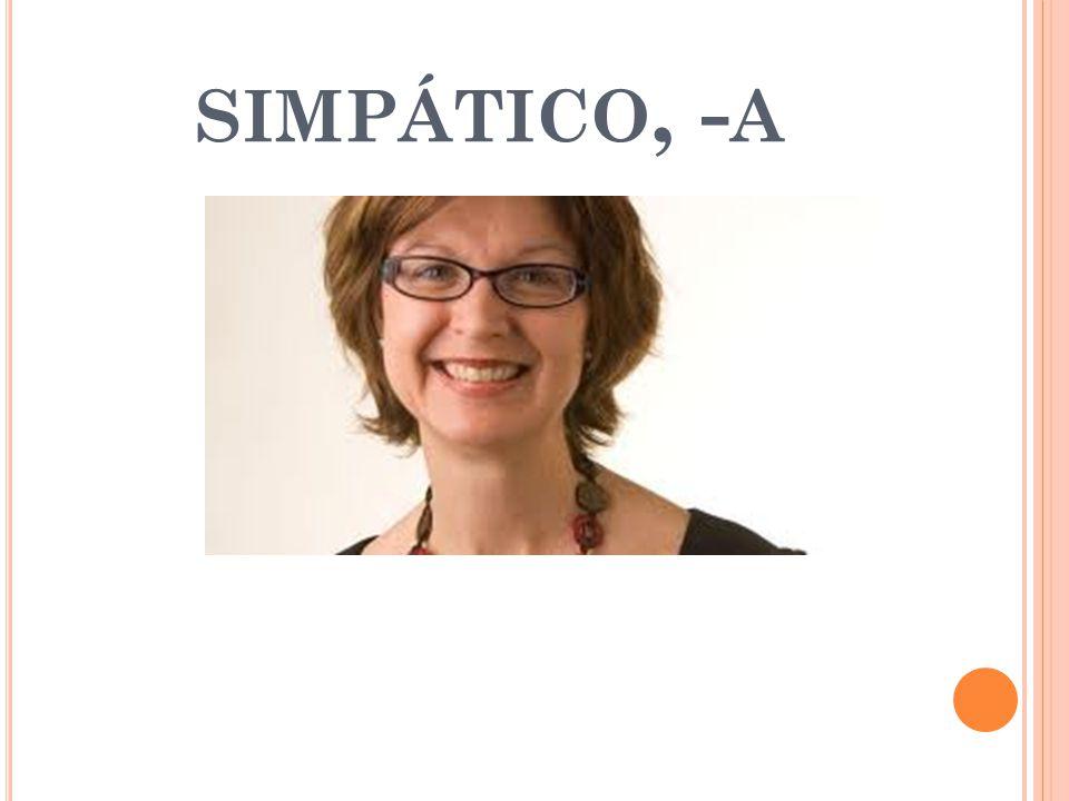 SIMPÁTICO, - A