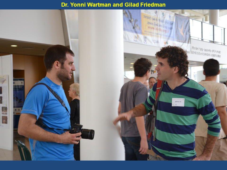 Dr. Yonni Wartman and Gilad Friedman