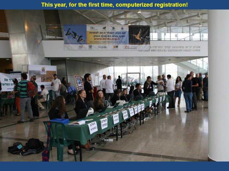 Registration for the Eilat birding festival