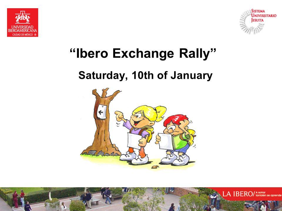 Ibero Exchange Rally Saturday, 10th of January