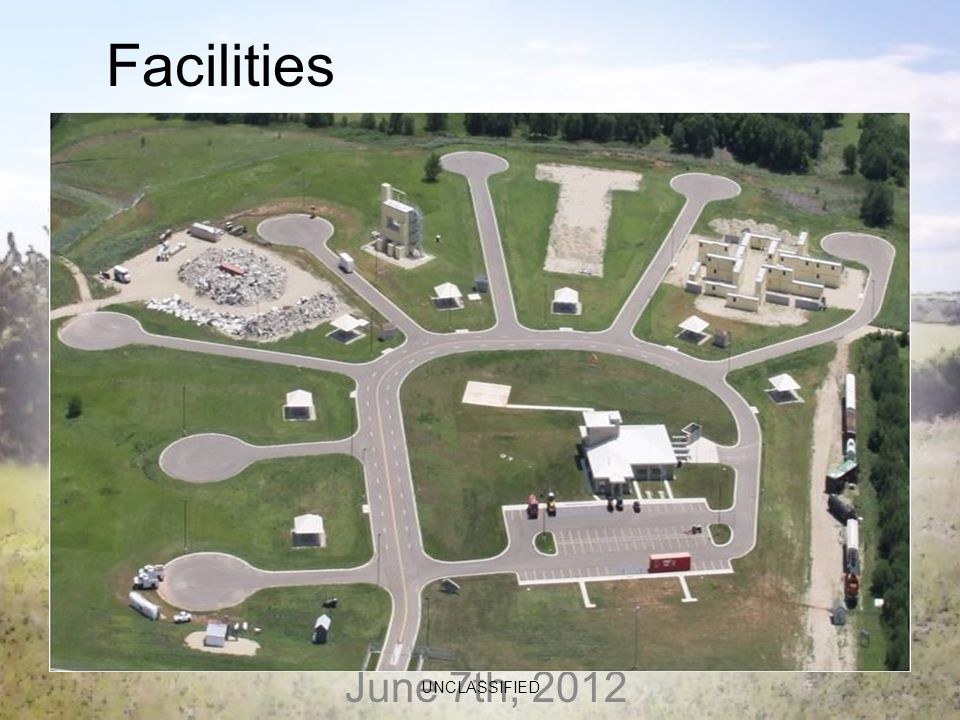 June 7th, 2012 UNCLASSIFIED Facilities