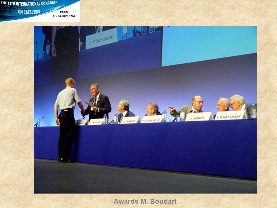 Awards M. Boudart