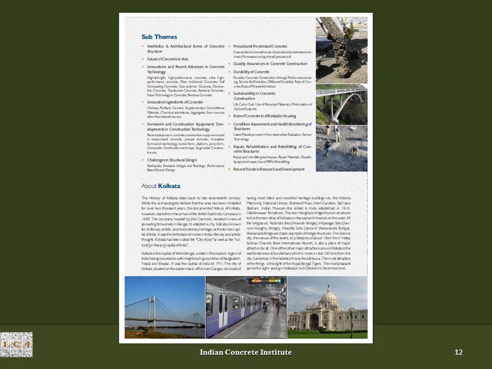 Indian Concrete Institute 12
