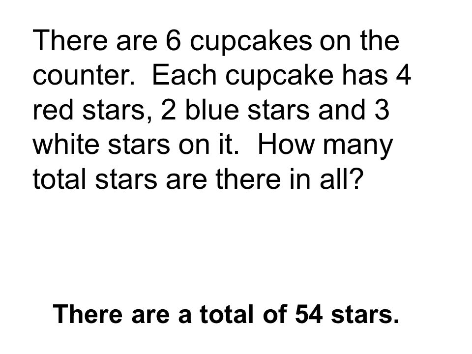 There are a total of 54 stars.