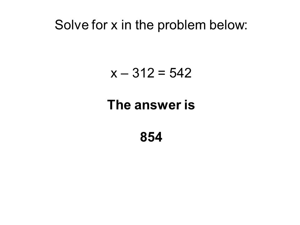 Look at the table below.Which of the following equations fits the table.