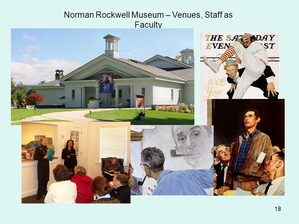 18 Norman Rockwell Museum – Venues, Staff as Faculty