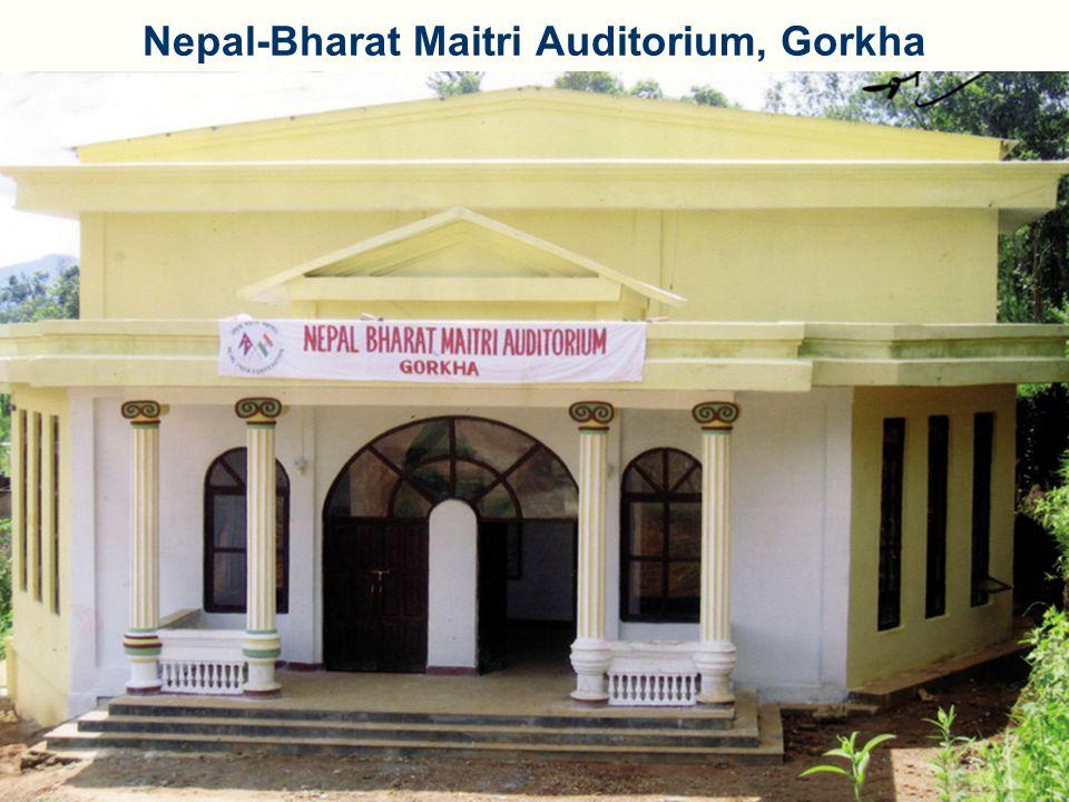 Nepal-Bharat Maitri Auditorium, Gorkha