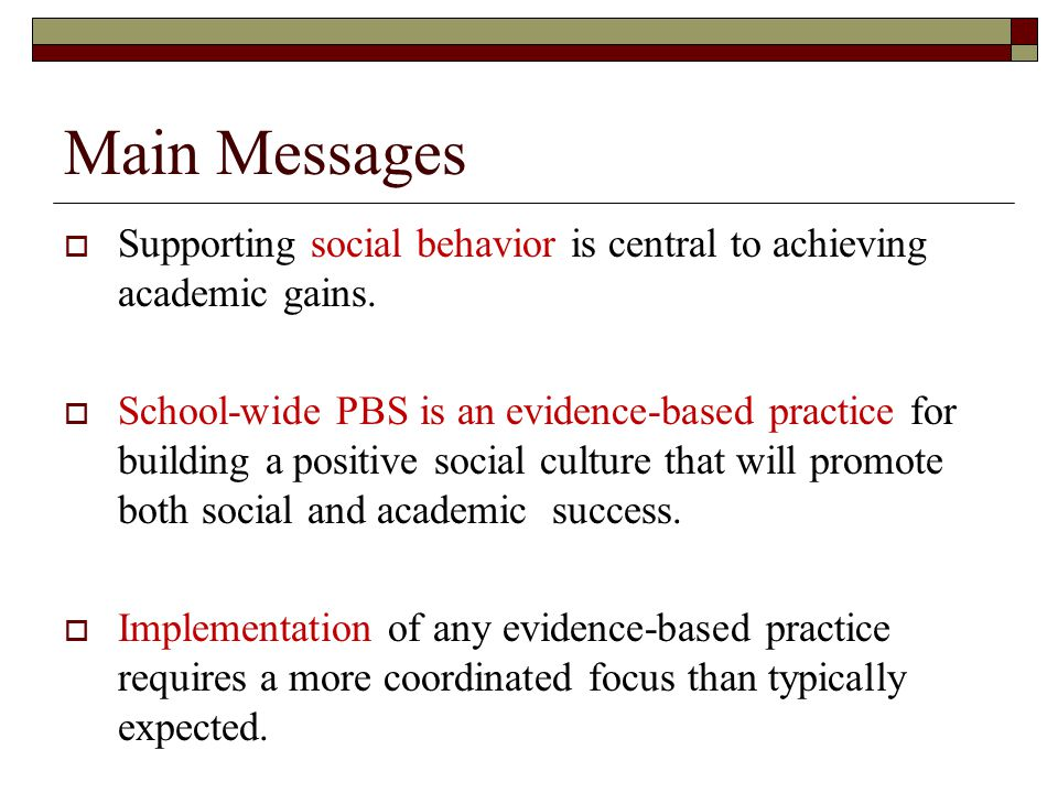 Research Findings  Reviews of over 600 studies on how to reduce school discipline problems indicate that the least effective response to school violence are: Counseling (talking therapies) Psychotherapy Punishment  Gottfredson, 1997  Lipsey, 1991; 1992  Tolan & Guerra, 1994  Elliott, Hamburg, Williams, 1998