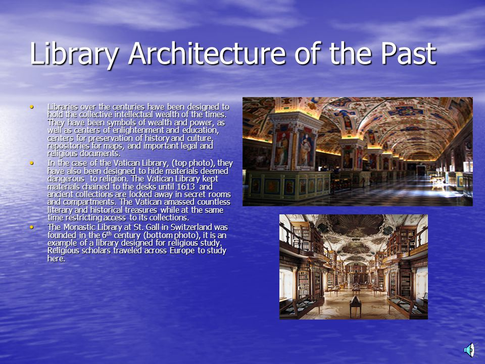 Library Design in the Digital Age Presentation by Bridgette Billingslea