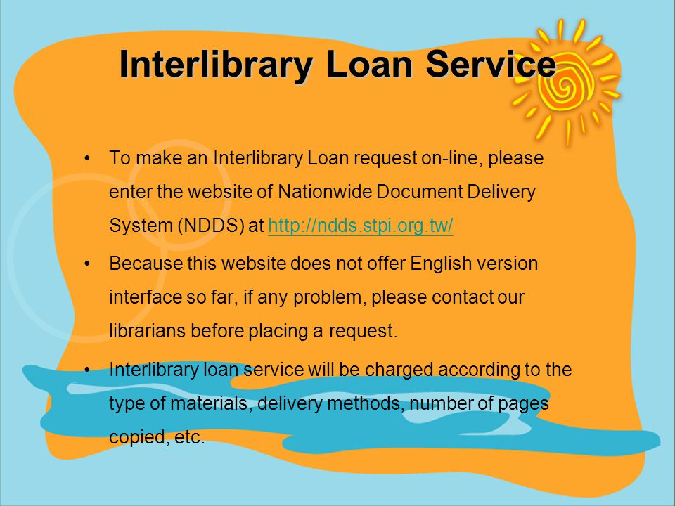 Circulation Policy Fines –A notice to remind you to return borrowed items is sent by e-mail 3 days before due date.