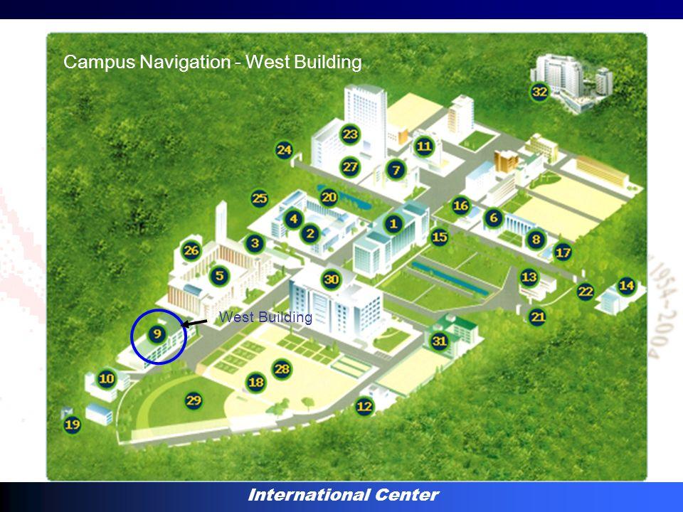 International Center West Building Campus Navigation - West Building