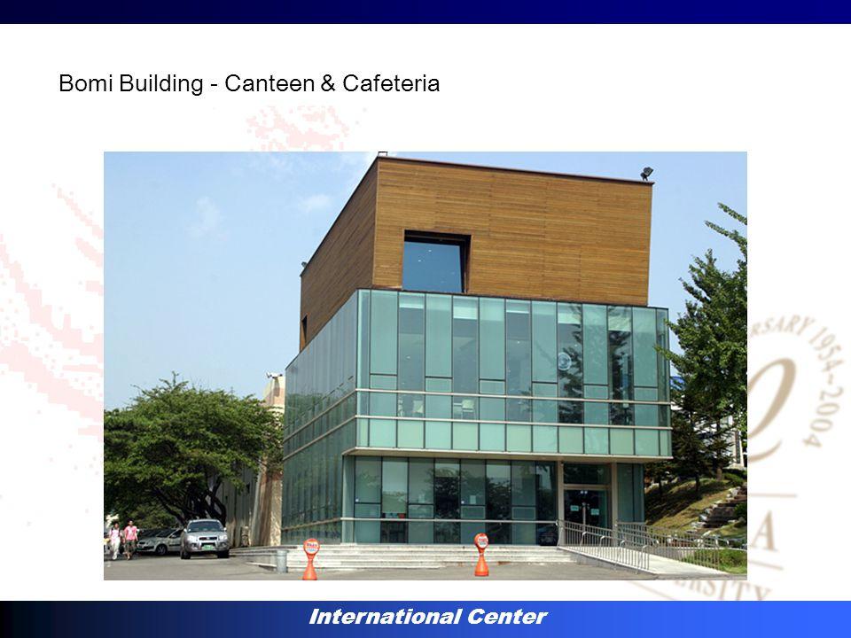 International Center Bomi Building - Canteen & Cafeteria