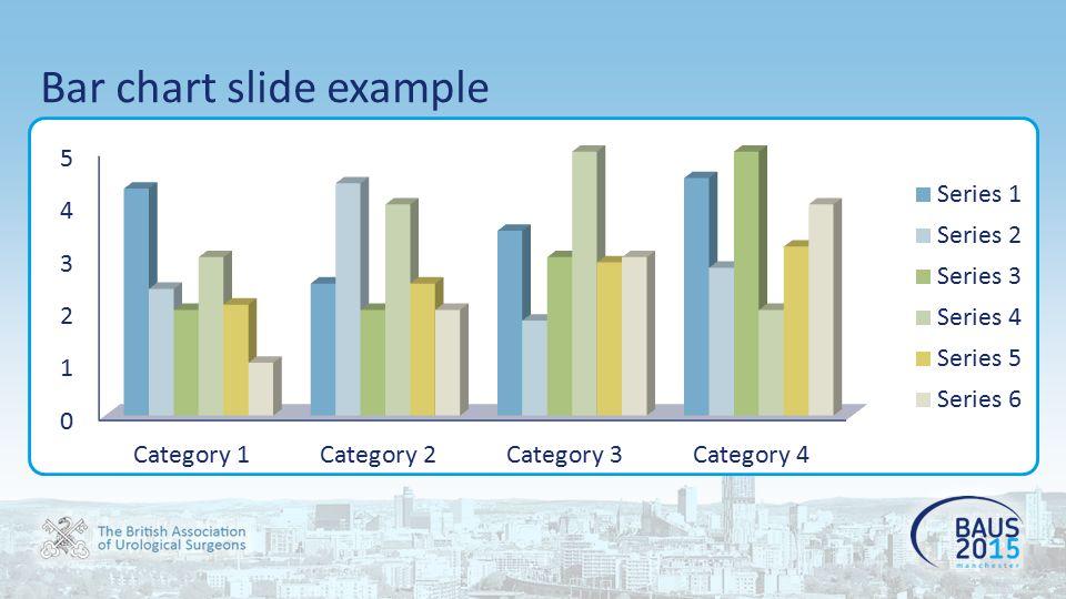 Bar chart slide example