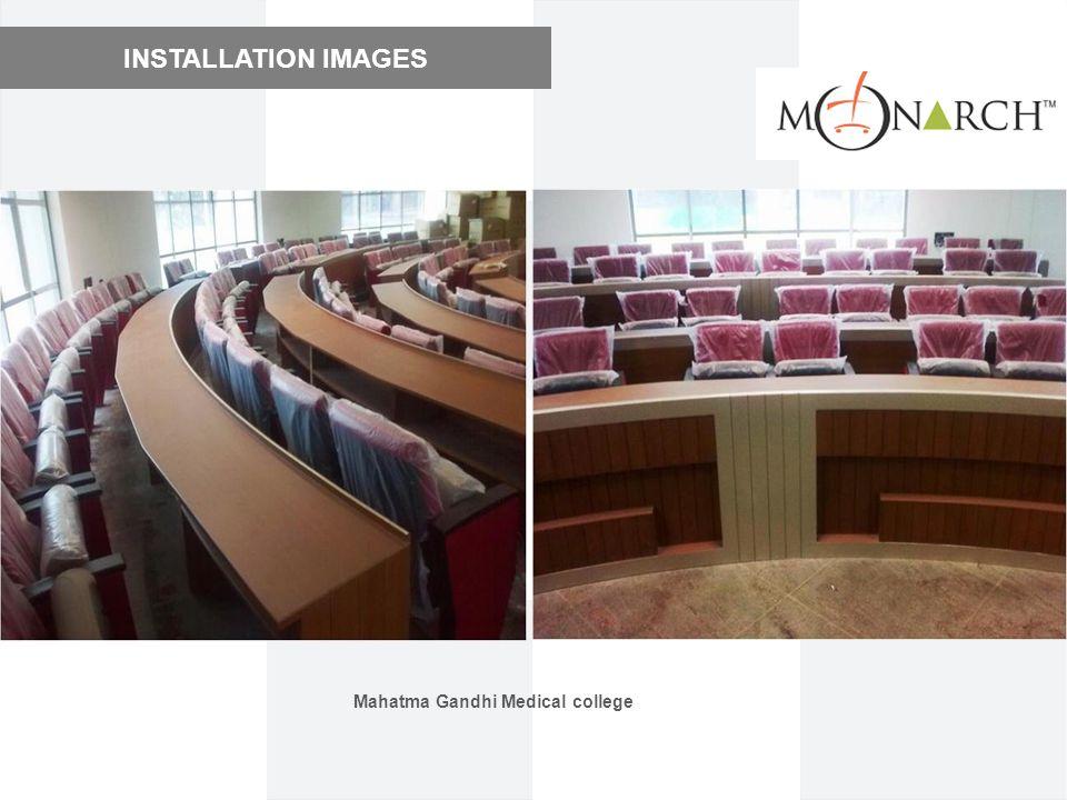 INSTALLATION IMAGES Mahatma Gandhi Medical college