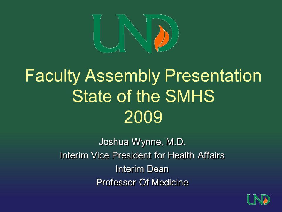 Joshua Wynne, M.D.