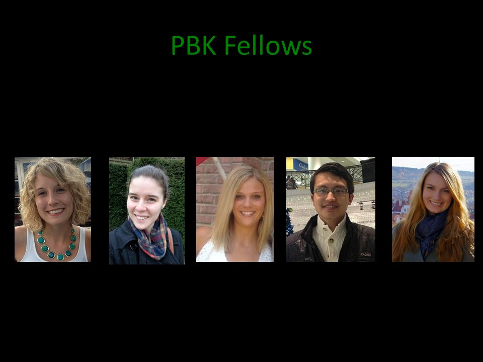 PBK Fellows