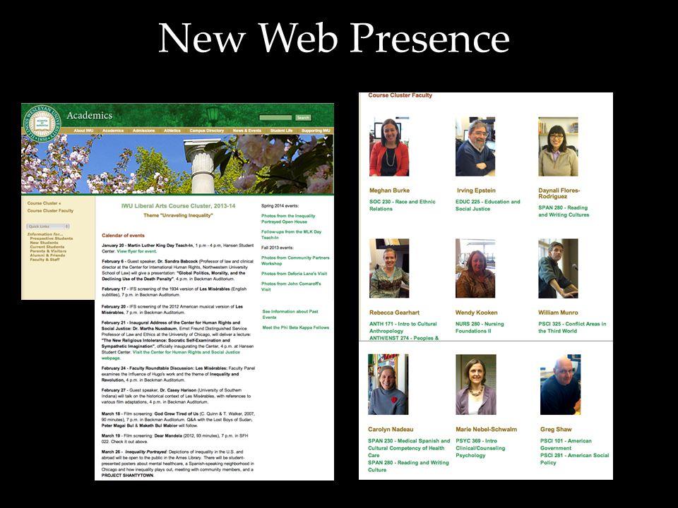 New Web Presence