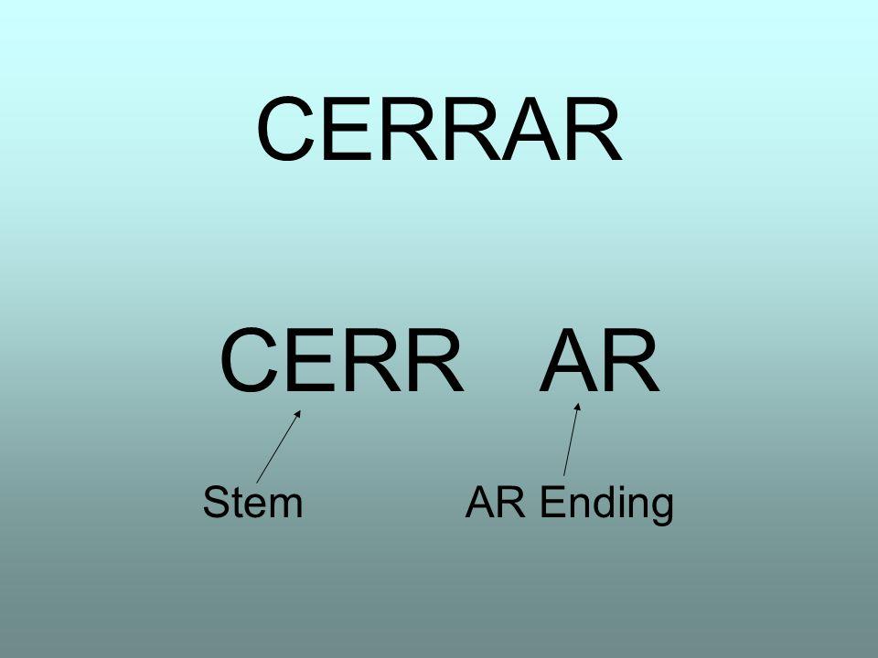 CERRAR StemAR Ending
