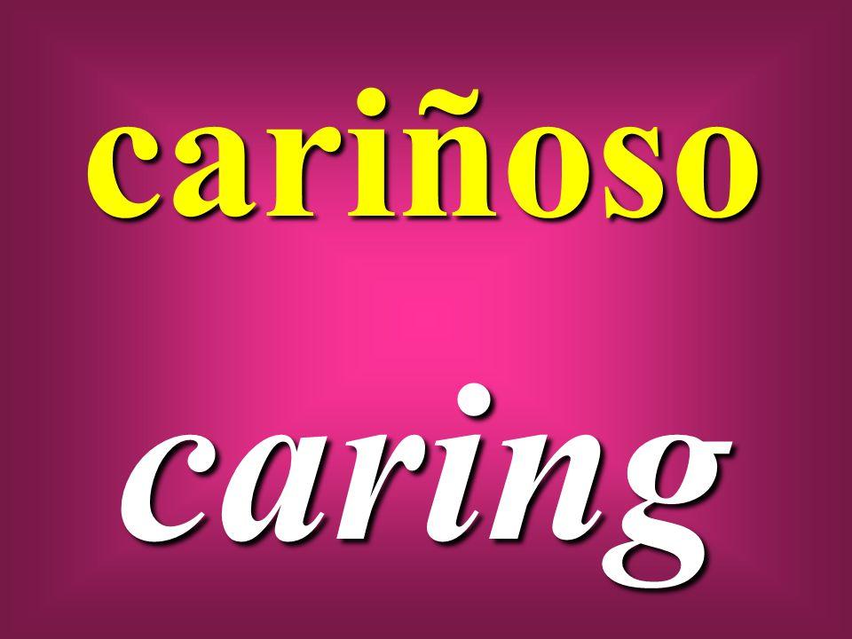 cariñoso caring