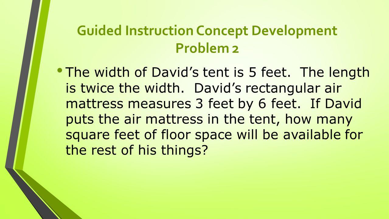 Guided Instruction Concept Development Problem 2 Solution