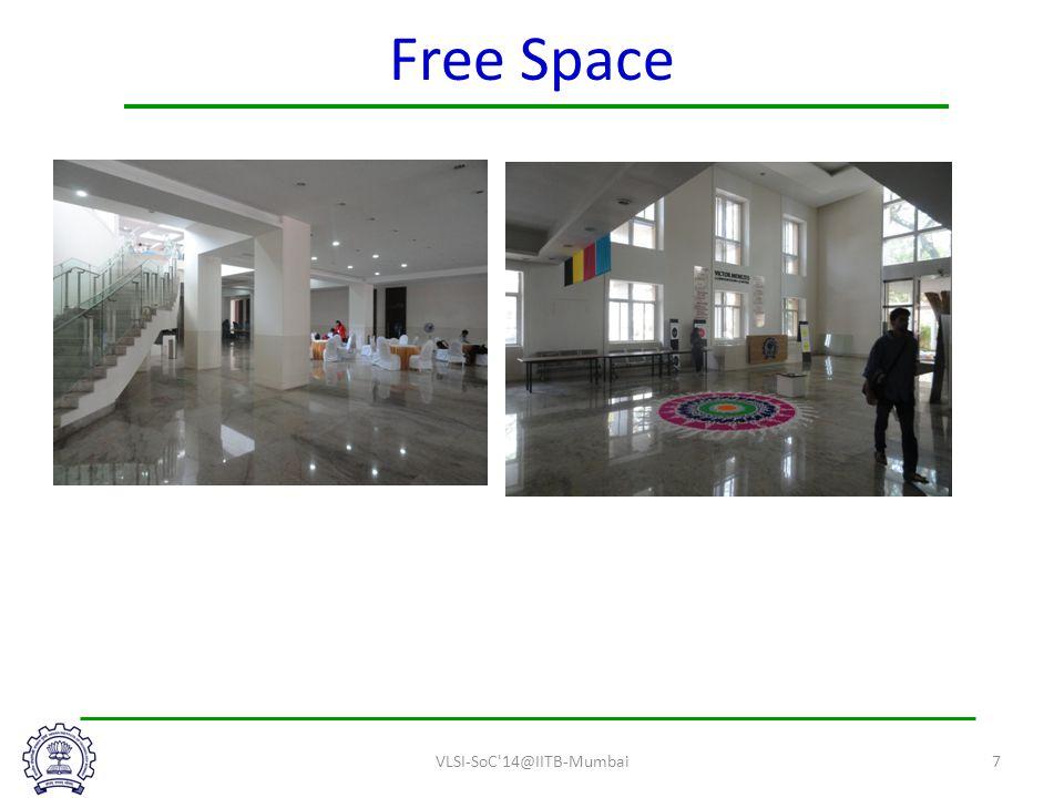 Free Space VLSI-SoC 14@IITB-Mumbai7