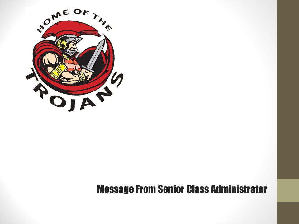 Message from Our Counselors