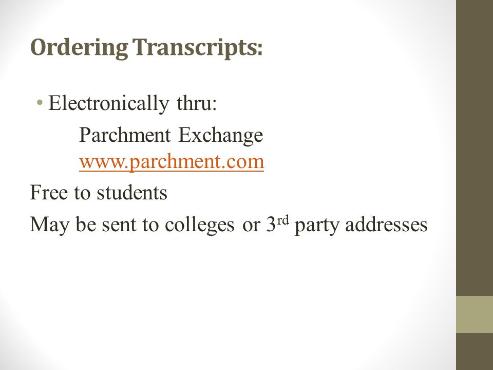 Communications Scholarship information is updated on Edmodo.com by Mrs.