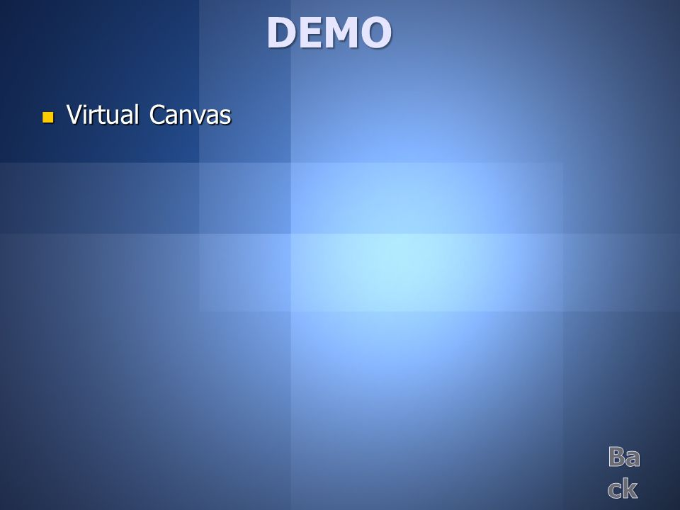 Virtual Canvas Virtual CanvasDEMO