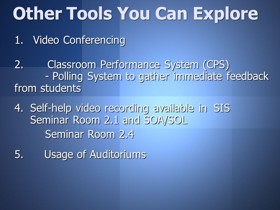  Video Conferencing 2.