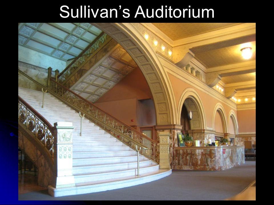 Sullivan's Auditorium