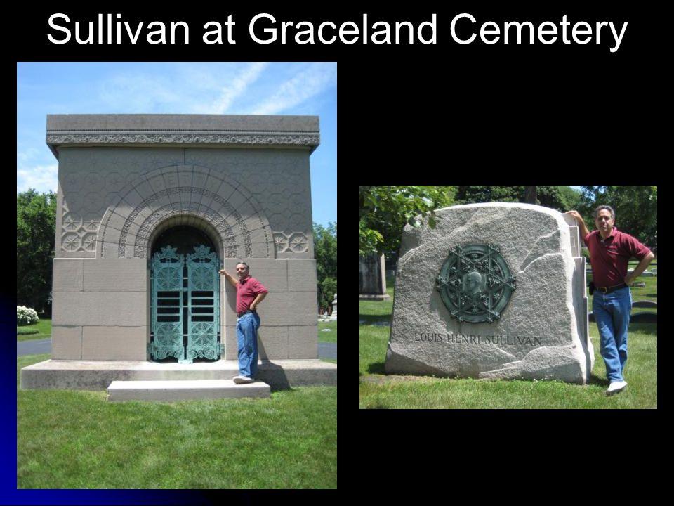 Sullivan at Graceland Cemetery