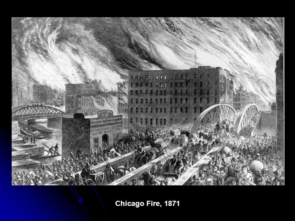 Burn Zone, Chicago, 1871