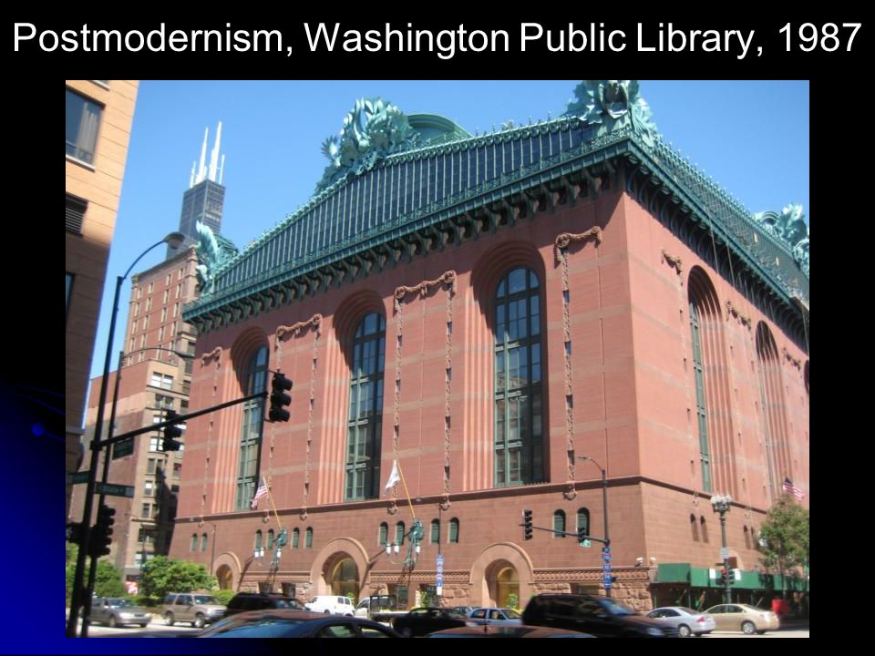 Postmodernism, Washington Public Library, 1987