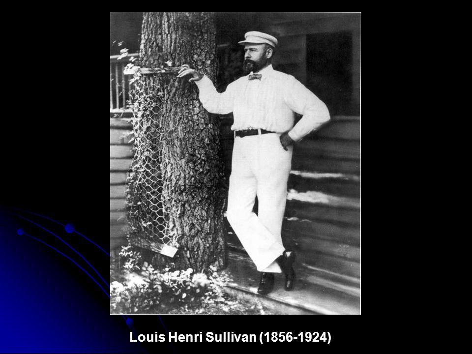 Louis Sullivan (Adler & Sullivan), Borden Block, 1880, Chicago, IL Demolished 1917