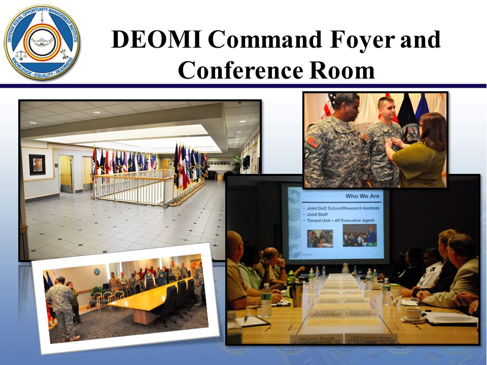 DEOMI Command Foyer and Conference Room