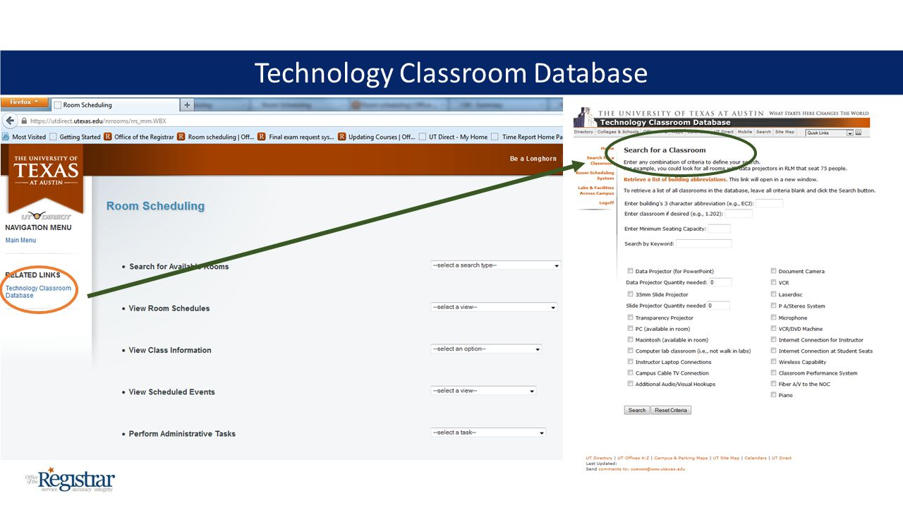 Technology Classroom Database