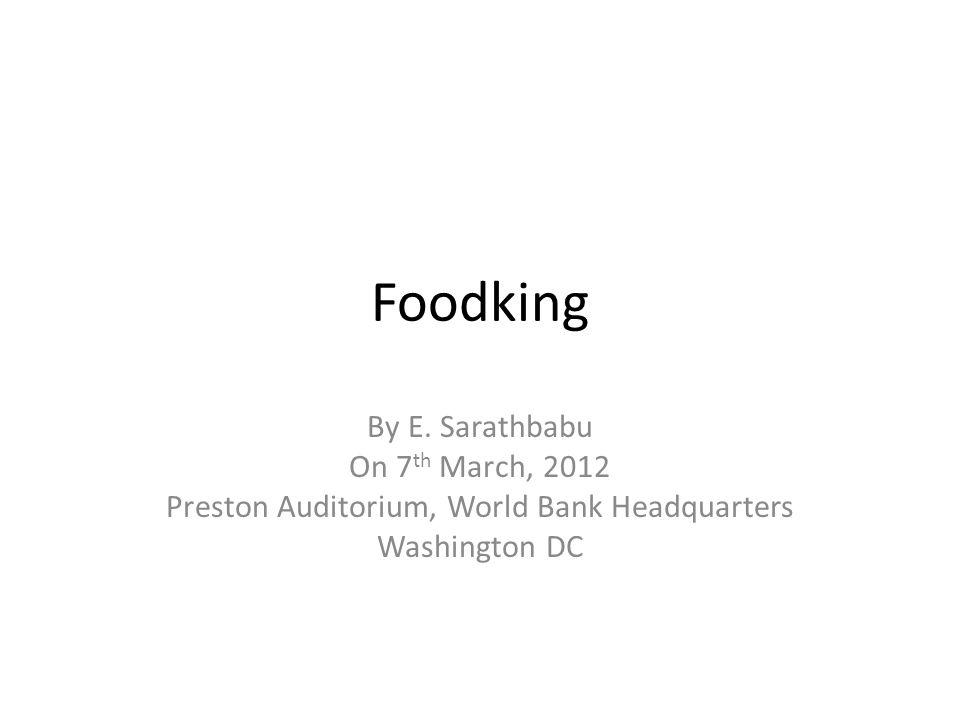 Foodking By E.