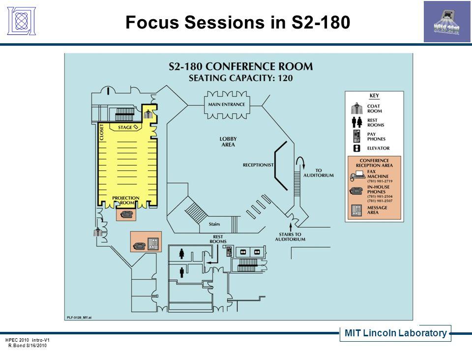 MIT Lincoln Laboratory HPEC 2010 intro-V1 R.Bond 8/16/2010 Agenda Highlights Mission Keynote Address – Dr.