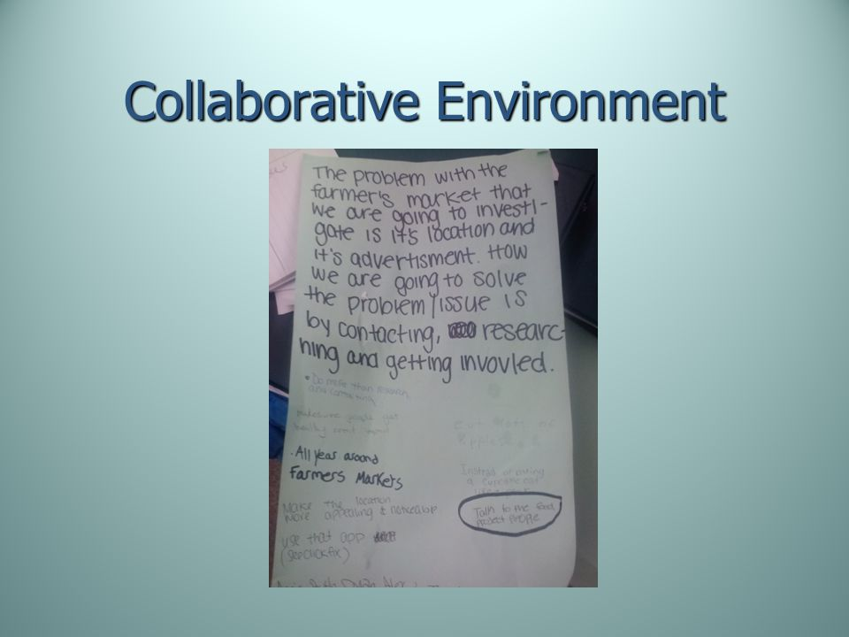 Collaborative Environment