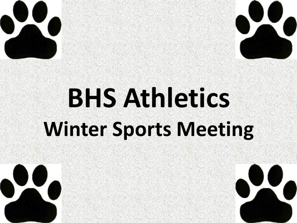 BHS Athletics Winter Sports Meeting