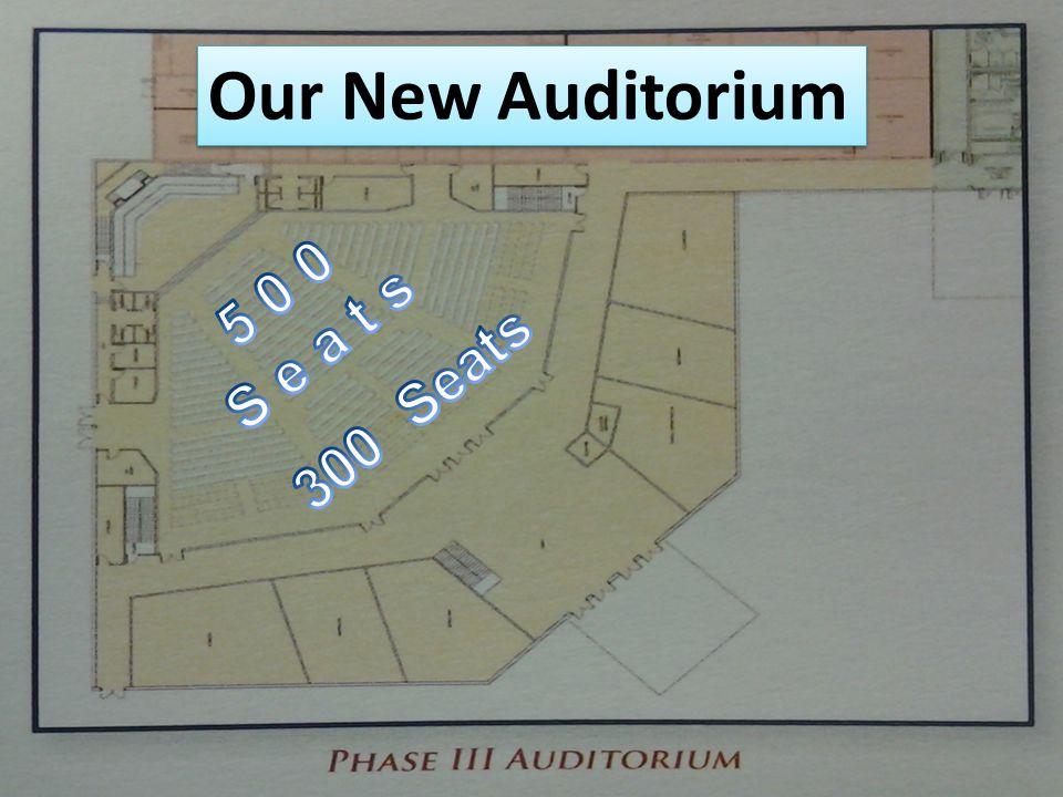 Our New Auditorium