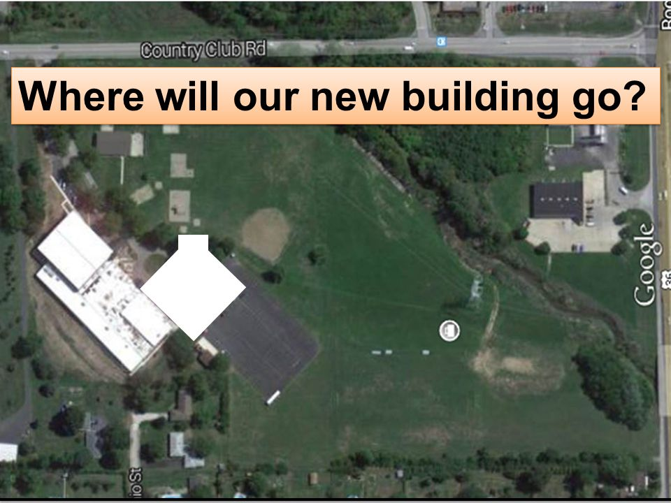 Where will our new building go