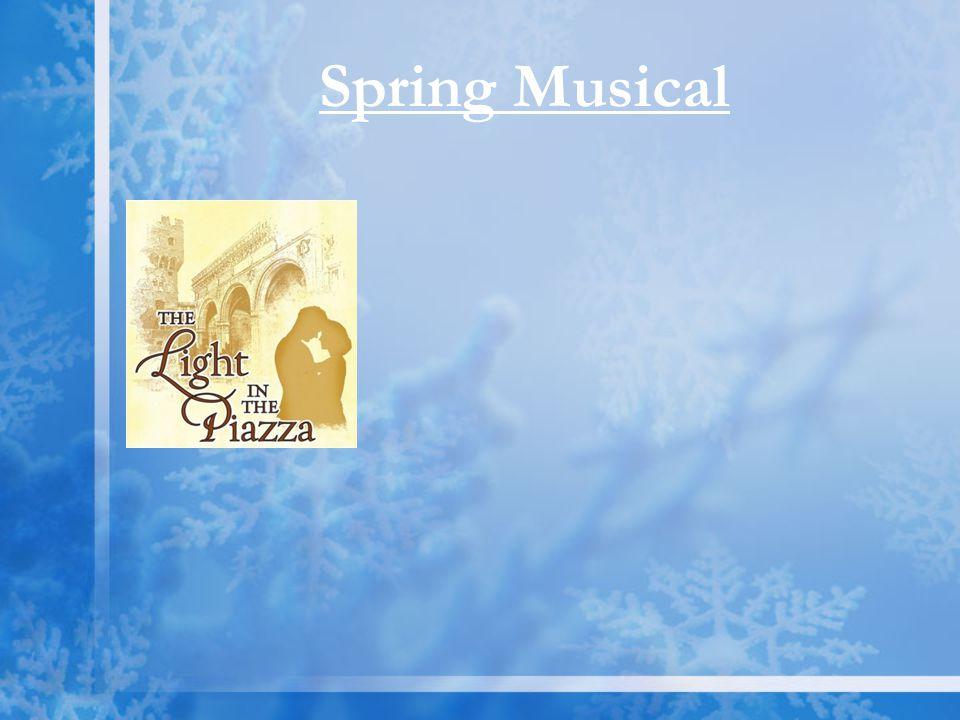 Spring Musical