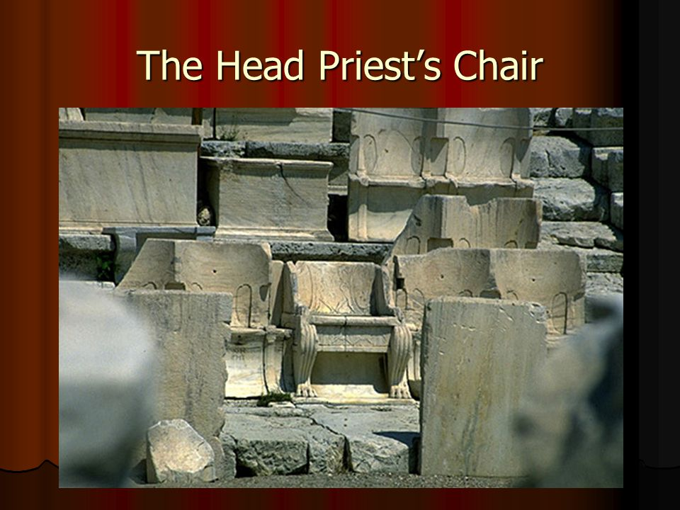 The Head Priest's Chair
