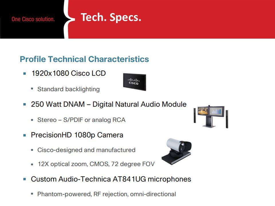 Tech. Specs.