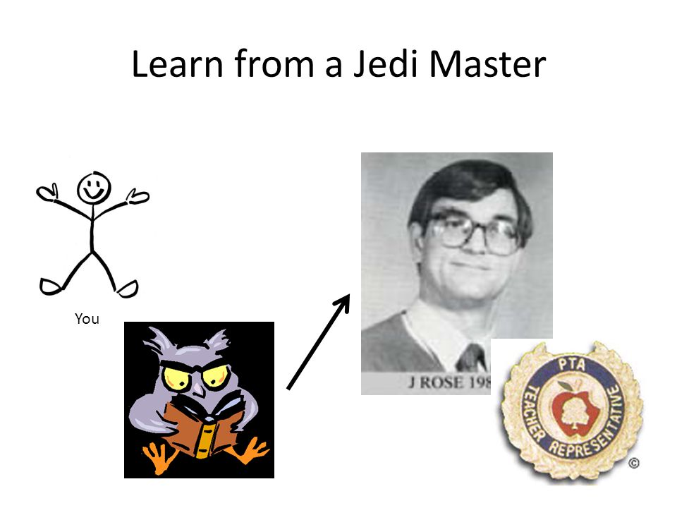 Learn from a Jedi Master You
