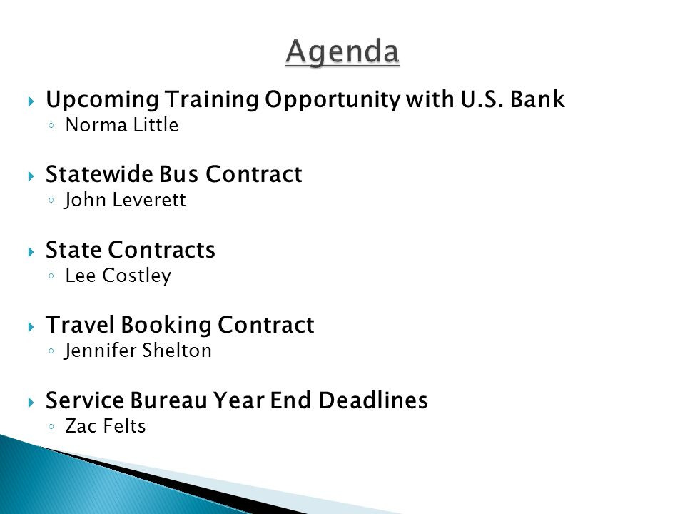  Upcoming Training Opportunity with U.S.