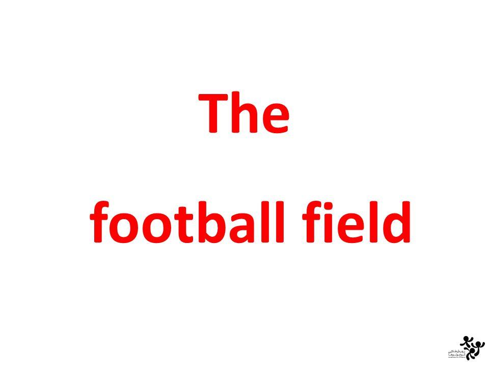 the football field